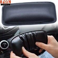 2x almofada de joelho universal almofada perna apoio travesseiro volta travesseiro para bmw honda confortável interior do carro braço cabeça console central