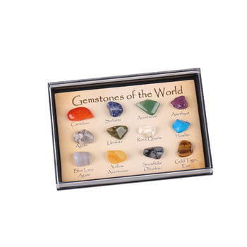 Wholesale Ore Set Ornament Natural Stone Craft Crystal Gemstone Polished Healing Nice Gift