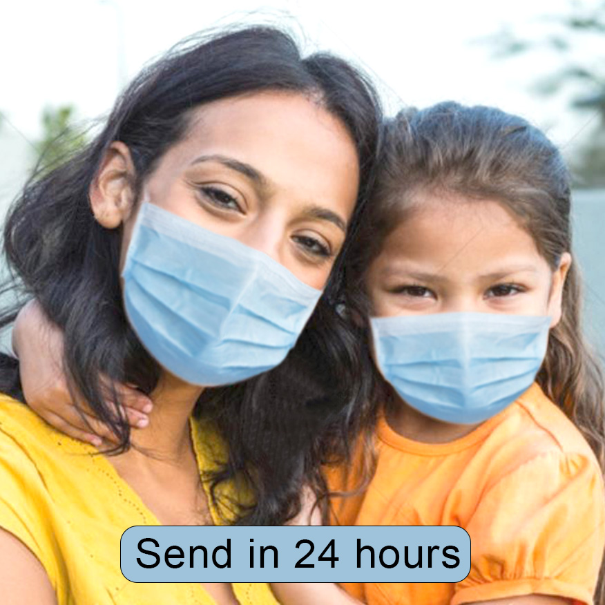 25-200Pcs Adult/Kids Disposable Protective Face Mouth Mask Filter Bacteria Air Pollution 3 Layers N95 Mask For Children Masks