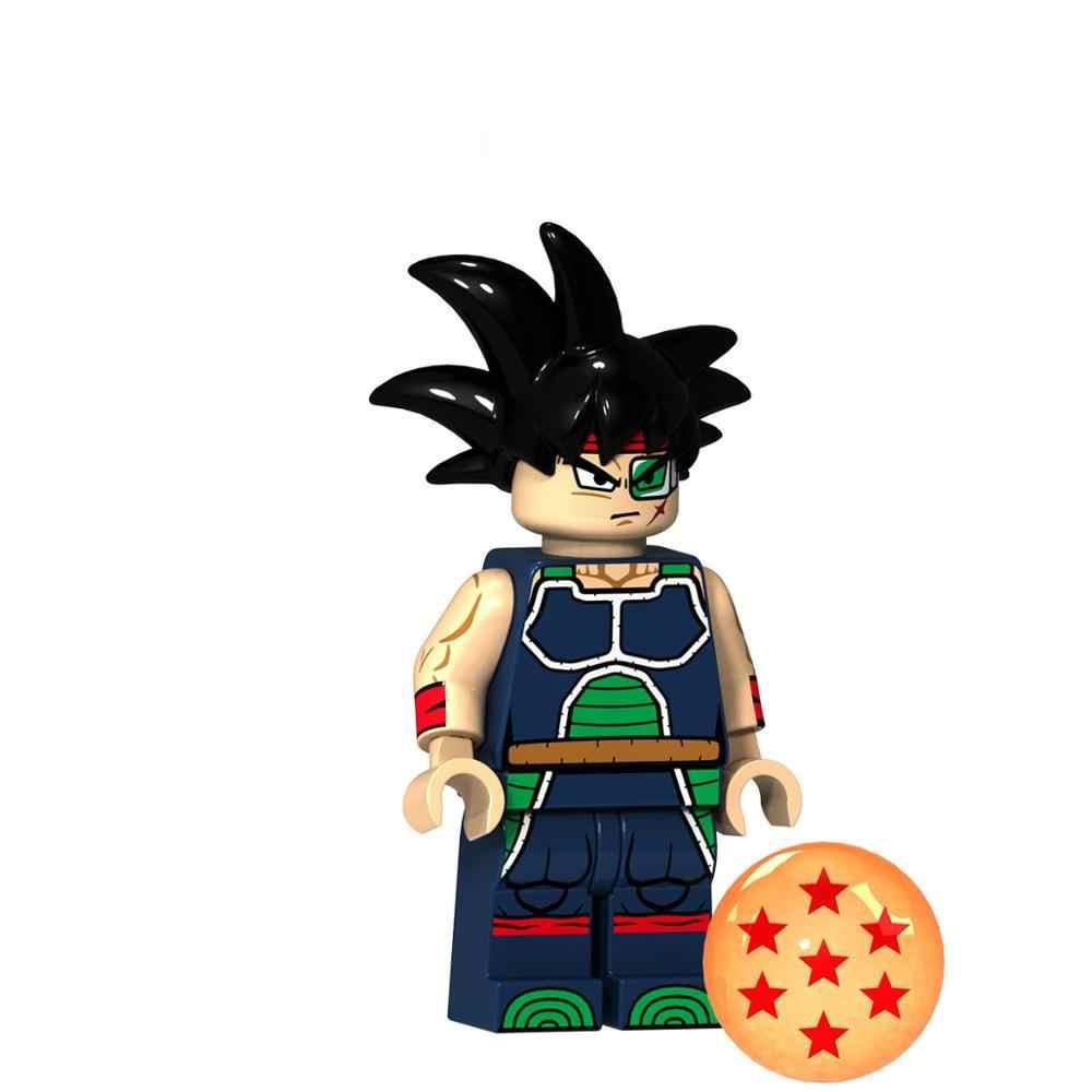 Dragon Ball Z Série de Desenhos Animados quente Guindaste imortal Building Blocks Brinquedos Goku Chichi Vegeta Gogeta Bardana JM133