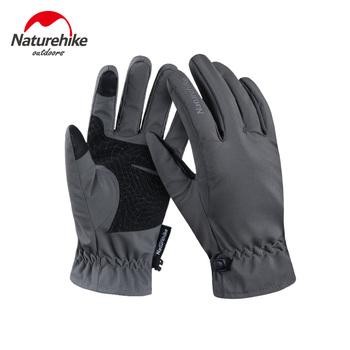 Naturehike 2019 zmodernizowane rękawice narciarskie zimowe piesze wycieczki mężczyźni i kobiety wiatroszczelne zimno wodoodporne ciepłe na zewnątrz konna piesze wycieczki jazda na rękawice tanie i dobre opinie NH18S005-T Polyester