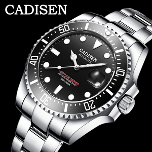 Image 1 - CADISEN 2020 New Mens Menchanical Watches Fashion Automatic Mens watches top Brand Luxury Military Watch Menrelogio masculino