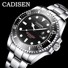 CADISEN 2020 جديد الرجال الساعات الميكانيكية موضة التلقائي ساعات رجالي العلامة التجارية الفاخرة العسكرية ساعة Menrelogio masculino