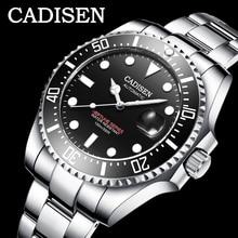 Cadisen 2020 新メンズmenchanical腕時計ファッション自動メンズ腕時計トップブランドの高級軍腕時計menrelogio masculino