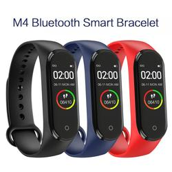 M4 Smart Bracelet Bluetooth 4.0 Smart Band M4 Fitness Wristband Watch Heart Rate Tracker IP68 Waterproof Smart Band For Children