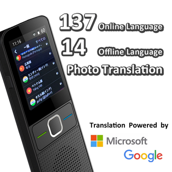 CTVMAN 137 Language Translator Smart Translator Offline In Real Time Smart Voice Translator Portable Traduttore Offline 2