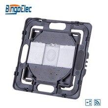 Bingoelec RF 433MHZ 2 כנופיית 2 Way DIY פונקצית חלק ללא זכוכית פנל