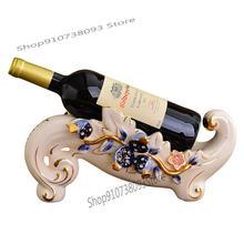 Wine-Rack Decoration Living-Room Household European-Style Small Creative Luxury