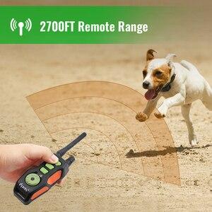 Image 2 - Ipets 618 1 800m מרחוק נטענת ועמיד למים עבור כלבי אימון