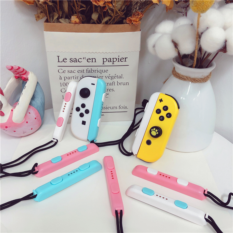 Nintend Switch Strap Cute Joy-Con Hand Wrist Lanyard NS Colorful Wristband For Switch Joy Con Controller Strap Accessories