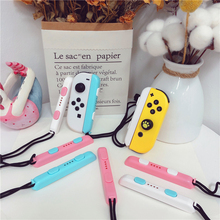 Nintend Switch Strap Cute Joy Con Hand Wrist Lanyard NS Colorful Wristband For Switch Joy Con Controller Strap Accessories