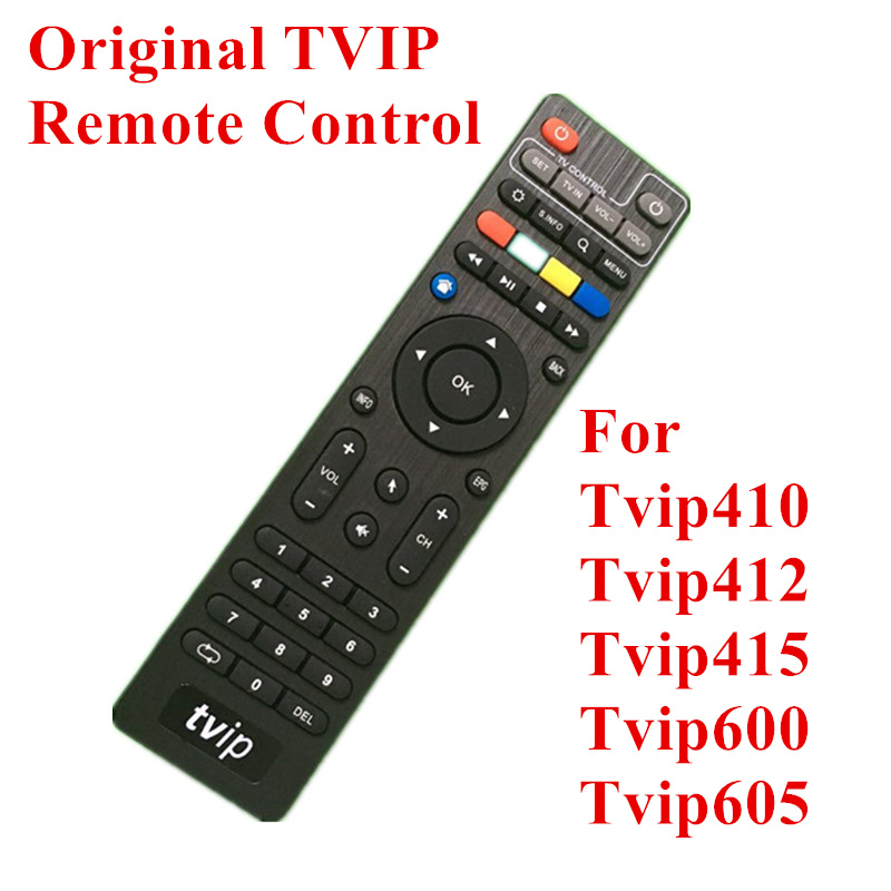 Wholesale TVIP TV Box Remote Control For <font><b>Tvip410</b></font> 412 Tvip415 Tvip605 Remote Controller Without BT image