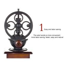 Mill Coffee-Maker Flour Hand-Crank Ferris-Wheel Manual Retro Small Household Creativity