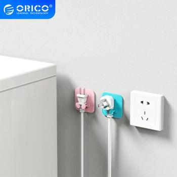 ORICO SG-WT2 Silikon Kabel Halter Kabel Stecker Management Stecker Lagerung Haken Power Steckdose Halter Aufhänger Wand Lagerung Haken