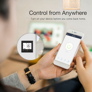 Image 3 - WiFi חכם תרמוסטט טמפרטורת בקר עבור מים/חשמלי רצפת חימום מים/גז הדוד עובד עם Alexa Google בית