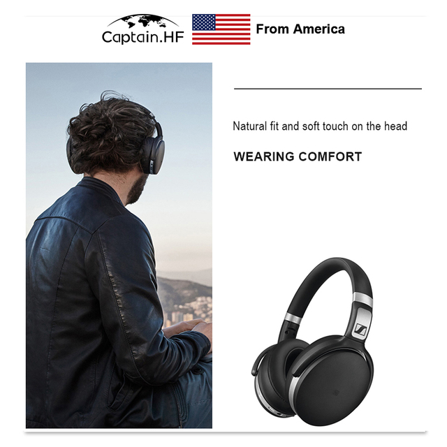 US Captain Bluetooth Headphone Wireless Headset High Quality Sound NFC and aptX Sport Edition TWS Earbuds