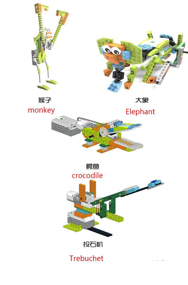 conjunto blocos de construção compatível com logoes