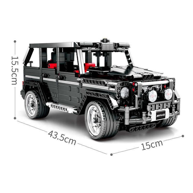Nuovo Legoings Serie Technic SUV G500 Off road AWD Veicoli Auto Fit Technic Modello di Auto Building Blocks Giocattoli Dei Mattoni Per regali per bambini