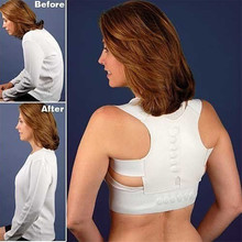 Magnetic Therapy Posture Corrector Brace Shoulder Back Support Belt Braces Supports Face Lift Tool