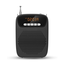 Microphone Voice-Amplifier Rechargeable Bluetooth/Recording/fm-radio 15W with Mini Support