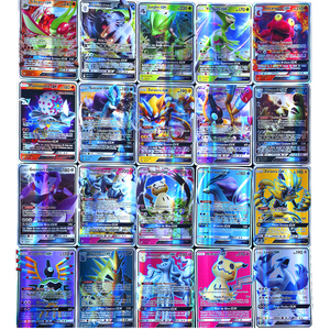 Image 5 - Pokemon francés tarjeta GX TAG non repeat Shining Cards Game Battle Carte Trading juguete para niños