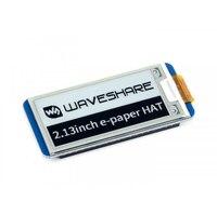 Pantalla e-ink de 2,13 pulgadas e-paper HAT 250x122 2,13 pulgadas para Raspberry Pi 3B/2B/Zero W SPI interfaz compatible con actualización parcial