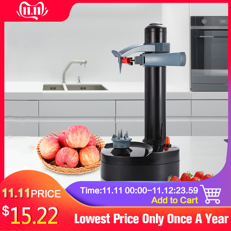 Creati Multifunction Stainless Steel Electric Peeler Automatic Fruit Vegetables Peeler Two Spare Blades Potato Peeling Machine xiaomi mi band 4