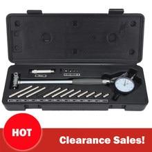 23 em 1 50-160mm 0.01mm dial indicador de diâmetro indicador de diâmetro indicadores de medição do cilindro do motor de precisão kit de teste ferramenta medidor
