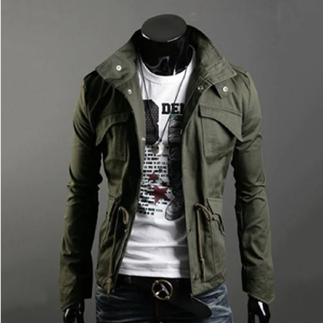 2020 Military Jacket Men Spring Autumn Cotton Windbreaker Pilot Coat Army Men's Bomber Jackets Cargo Flight Jacket Male Clothes 4