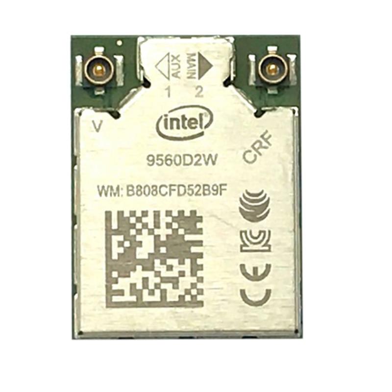 Dual Band 1.73Gbps Wireless For Intel AC 9560 9560D2W NGFF Key E Wifi Card 9560AC 802.11Ac Bluetooth 5.0 Laptop For Windows 10