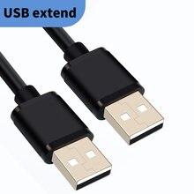 Удлинительный usb кабель 1 м со штыревыми соединителями на обоих