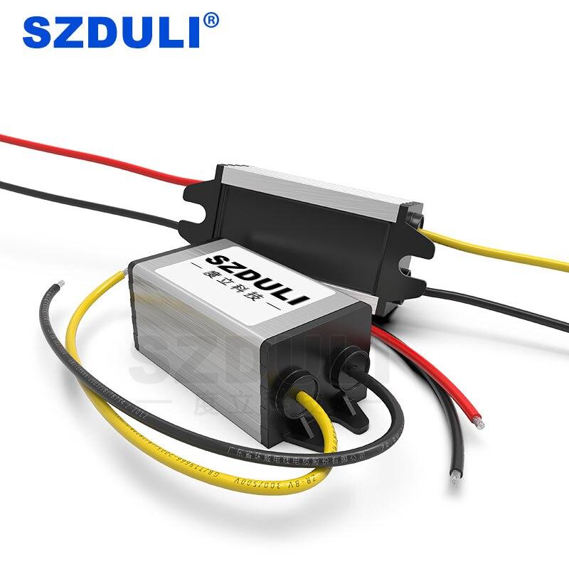 Преобразователь постоянного тока с 24 В на 12 В, 1 А, 2 А, 3 А, 4 а, 5 А, шаговый регулятор с 24 В на 12 В, понижающий трансформатор напряжения без напряж...