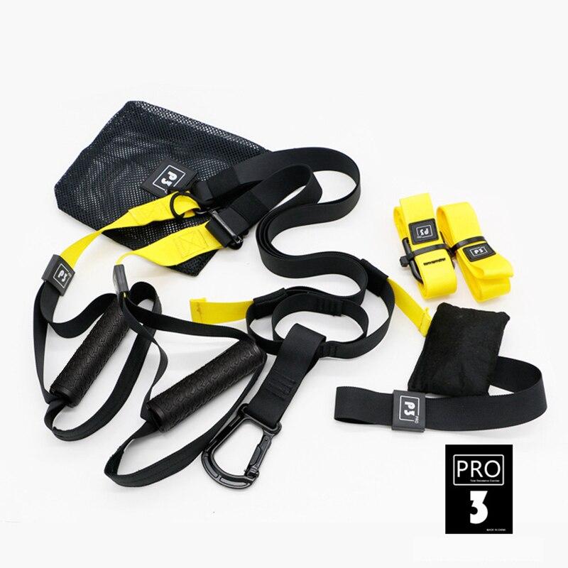 Faixas da resistência Da Aptidão Cinto de Suspensão Suspension Training Gym workout Exercício Cinto de corda Puxar Alongamento Cintas Elásticas