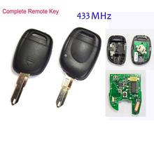Car Remote Key 1 Button Protection Shell For Renault Twingo Clio Master KANGO недорого