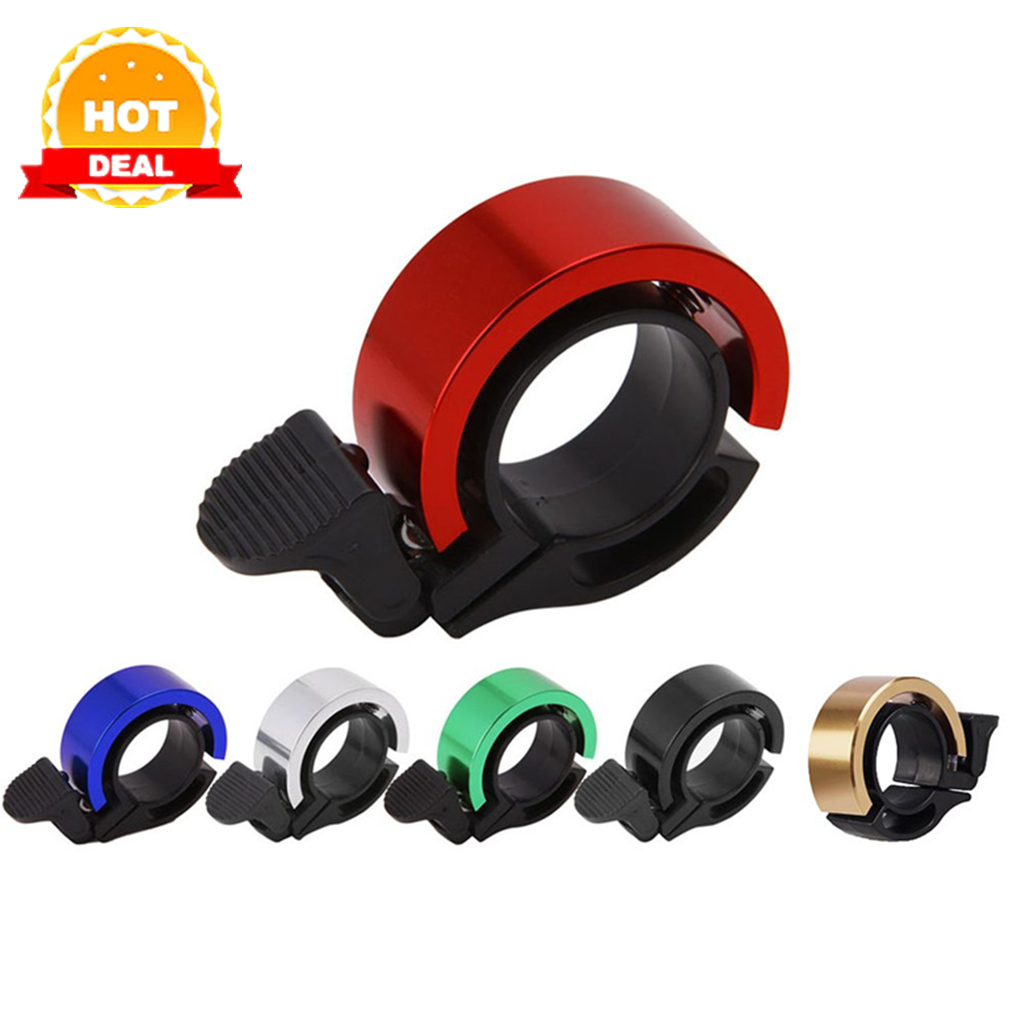 Q-Type Aluminum Alloy Bicycle Bell For Mtb Cycling Alloy 90Db Horn Bike Bell Cycling Handlebar Alarm Ring