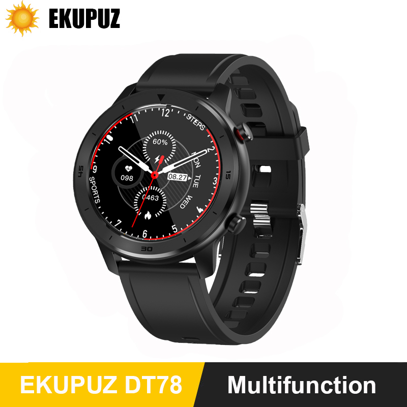 Global Version <font><b>New</b></font> <font><b>Smart</b></font> <font><b>Watch</b></font> 5ATM Bluetooth Music Dual Mode 14 Days Smartwatch For Xiaomi <font><b>2019</b></font> Heart Rate Intelligent Monitor image