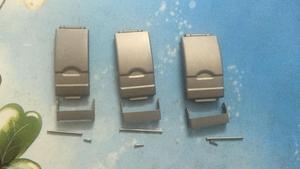 Мужской браслет с титановой пряжкой, 16 мм, 18 мм, 20 мм