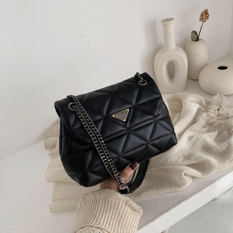 2020 Hot Flap Women's Luxury Leather Clutch Bag Ladies Handbags Brand Women Messenger Bags Sac A Main Femme Famous Tote Bag