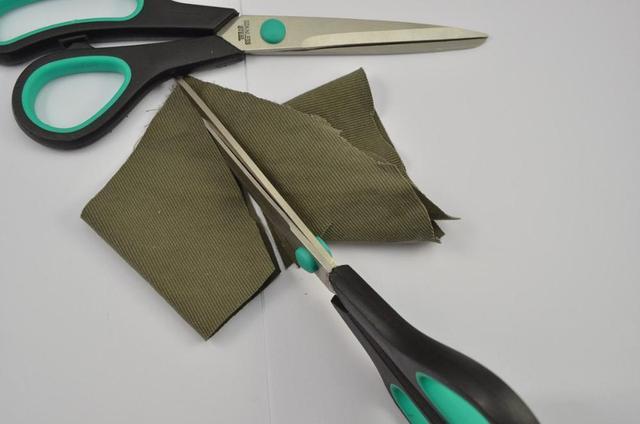 8 بوصة لون نمط عشوائي خياط قطع القماش المنزلية مقص DIY بها بنفسك قطع الملابس