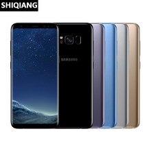 Verwendet Entsperrt Original Samsung Galaxy S8 Handy 4G LTE Octa-core 4GB RAM 64GB ROM 5.8
