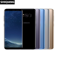 Used Unlocked Original Samsung Galaxy S8 Mobile Phone 4G LTE Octa Core 4GB RAM 64GB ROM 5.8 12MP Fingerprint Android Cell Phone