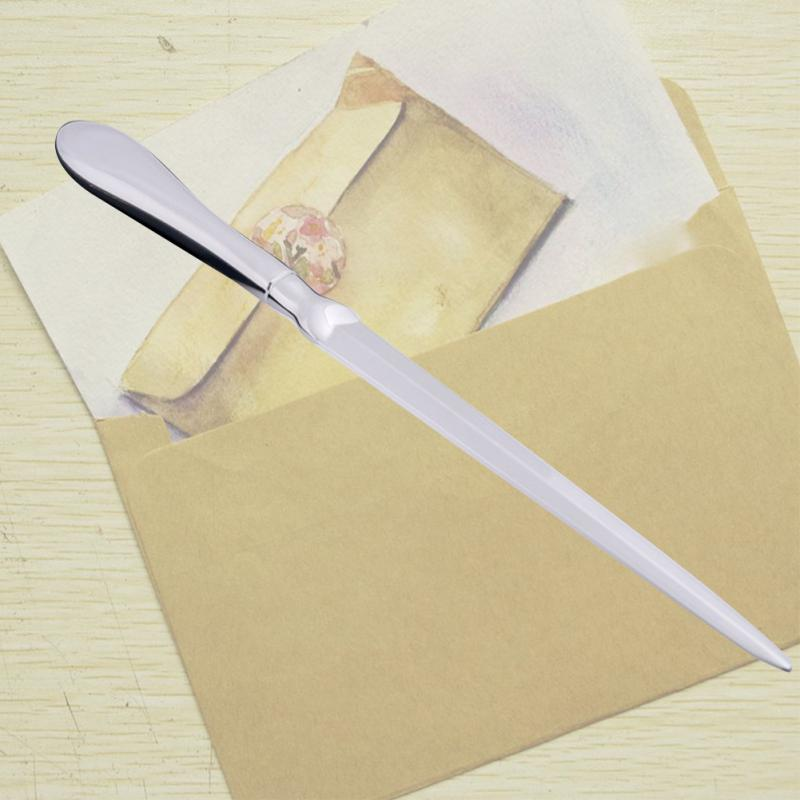 Hand Painted Brown Cat Letter Mail Envelope Opener
