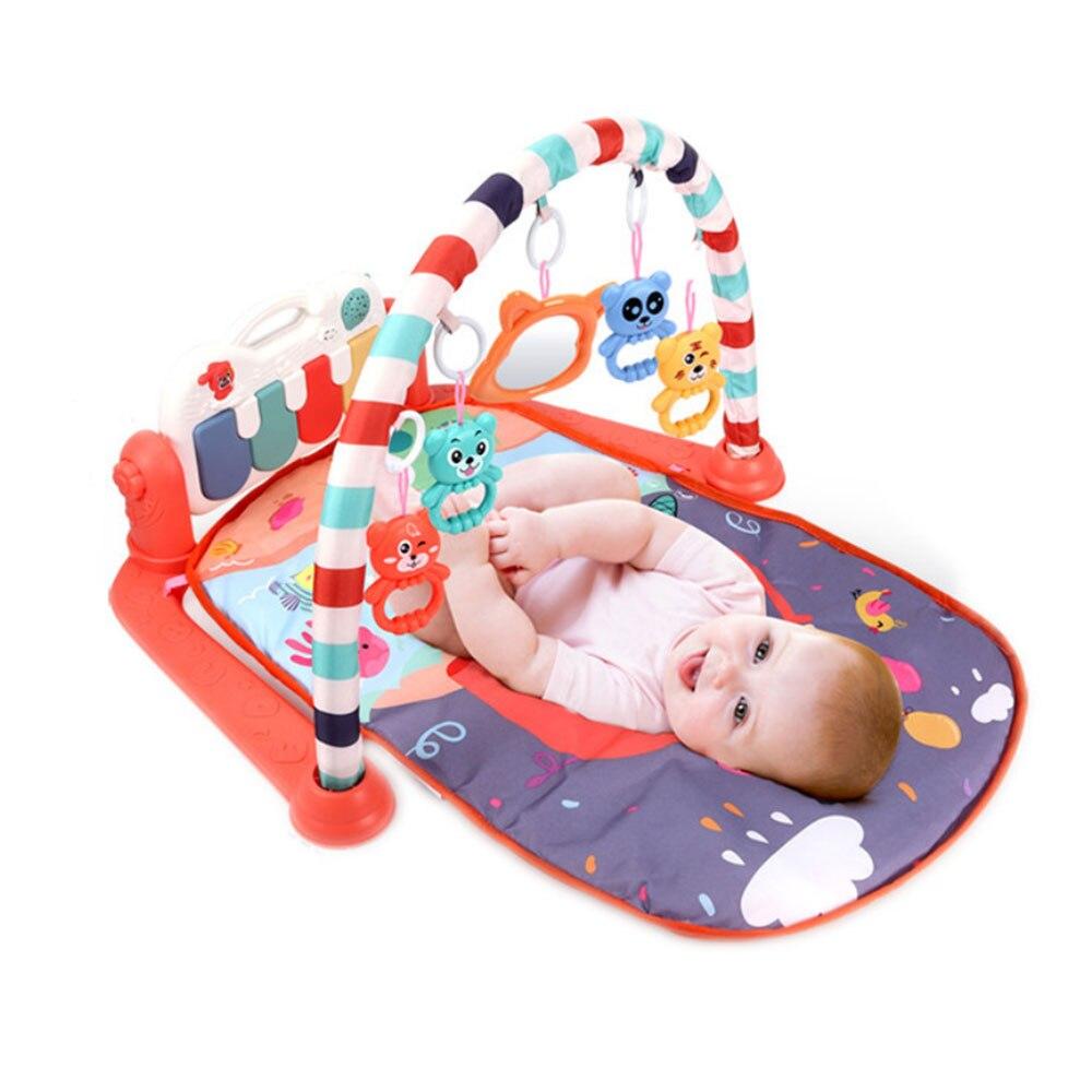 Tapis de jeu Musical bébé tapis enfants Puzzle éducatif jouets tapis avec clavier Piano bébé Gym ramper activité tapis jouets pour bébé