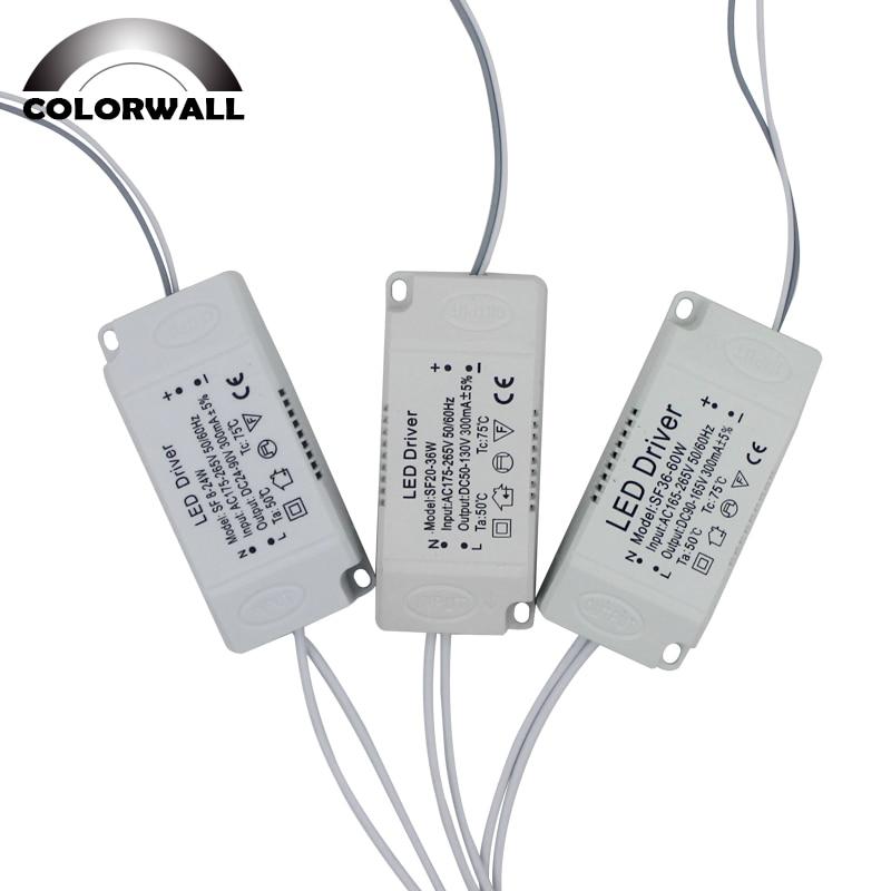 8-120 w conduziu o adaptador do motorista para a iluminação conduzida ac220v não-isolando o transformador para a substituição conduzida da luz de teto