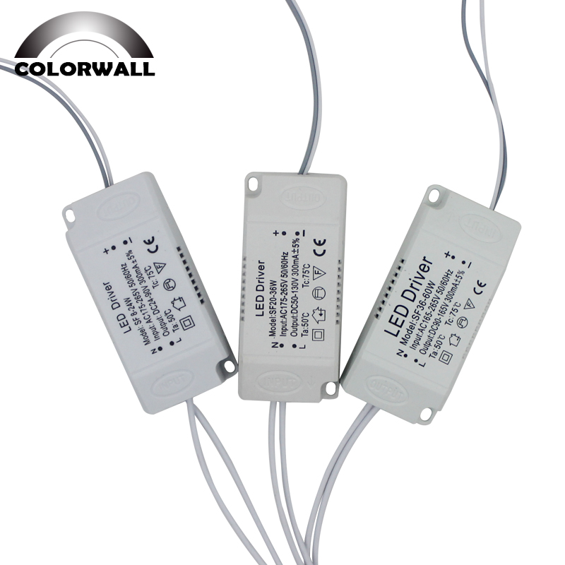 8-120W LED Driver Adapter For LED Lighting AC220V Non-Isolating Transformer For LED Ceiling Light Replacement