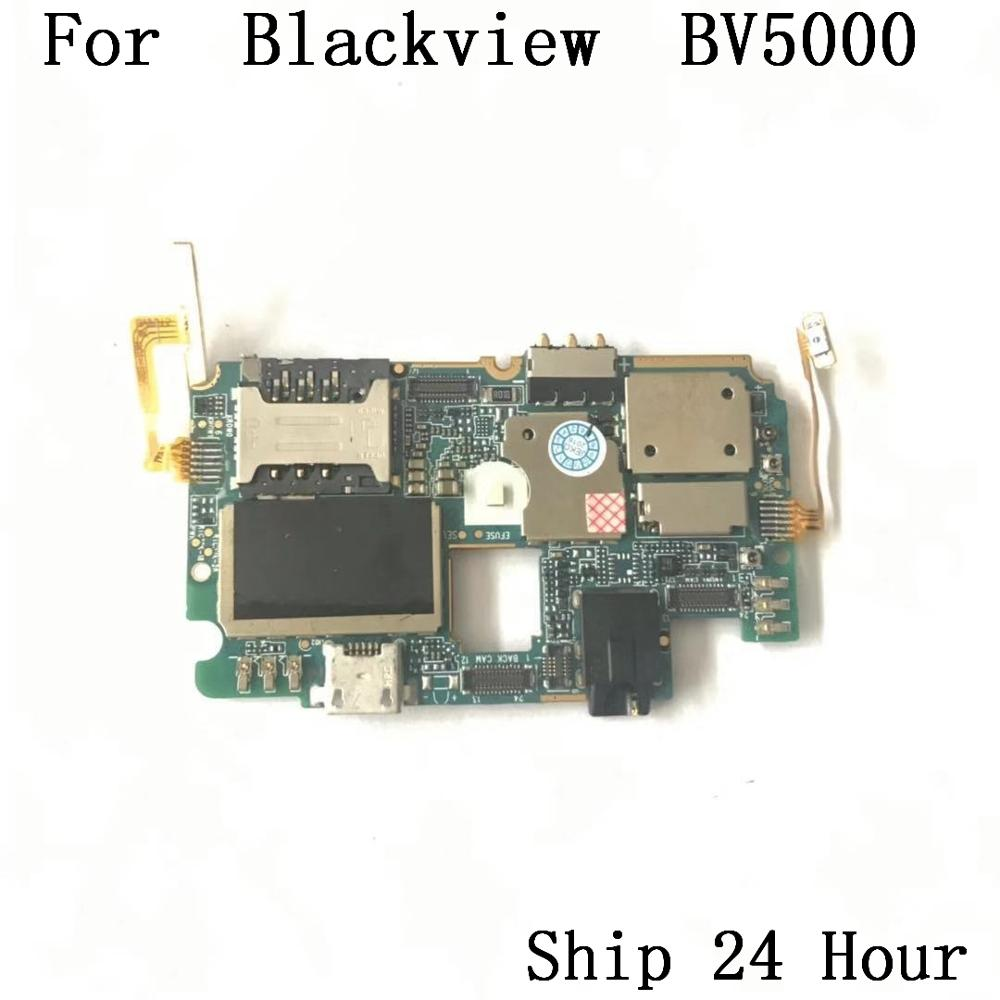 Blackview BV5000 Used Original Mainboard 2G RAM+16G ROM Motherboard+key Fpc For Blackview BV5000 MTK6735 Quad Core Free Shipping