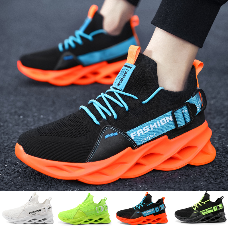 Men Fashion Breathable Sneakers Running Shoes Lightweight Casual Sport Shoes