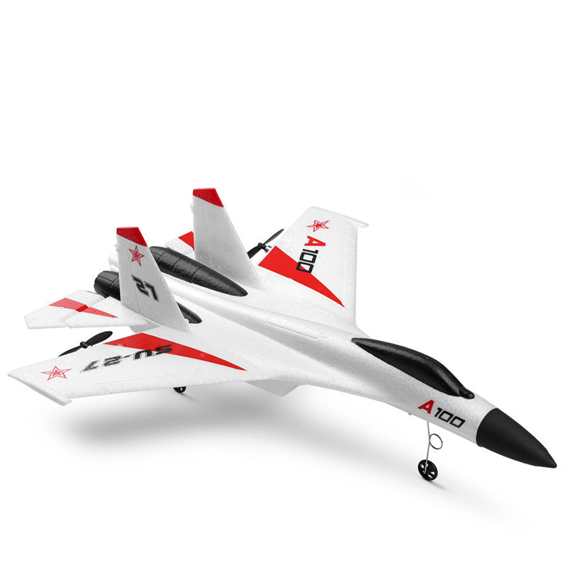 New Products Xka100 Su-27 Fighters 11 Three-Channel Fixed-Wing Remote Control Glider Like Really Airplane Model Toy