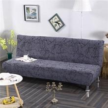 شاملة للجميع سرير أريكة قابلة للطي غطاء ضيق التفاف أريكة منشفة Rekbare كرافت غطاء أريكة دون مسند الذراع housse دي canap cubre أريكة