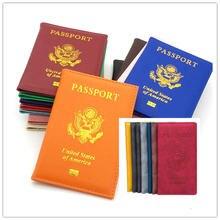 Практичная американская Обложка для паспорта мужчин универсальная